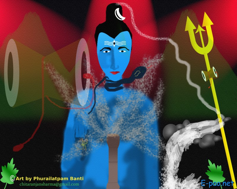 Maha Shivratri (Hindu festival celebrated in reverence of Lord Shiva) :: Artwork
