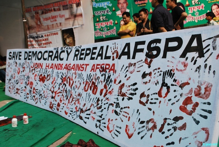 Campaign to support Irom Sharmila 11 year long Hunger-strike at New Delhi :: Nov 5 2011