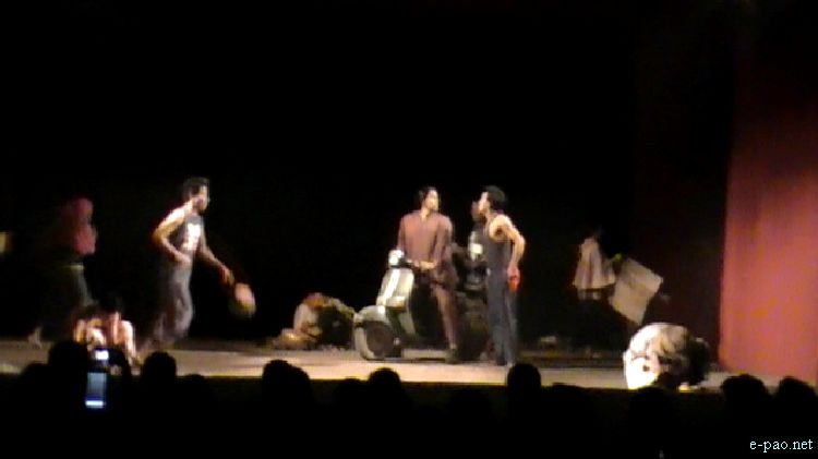 Mirel Mashinggha - A Play at Festival of Hope, Peace and Justice for Irom Sharmila  :: 2011