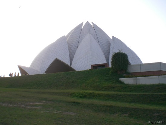 Lotus Temple , New Delhi :: 2008