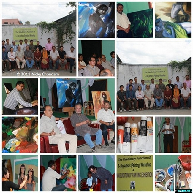 Manipur State Kala Academi's Painting Workshop in October 2011