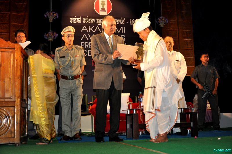 Akademi awards presentation ceremony for the year 2010 at JN Dance Academy Auditorium, Imphal ::  August 8, 2012