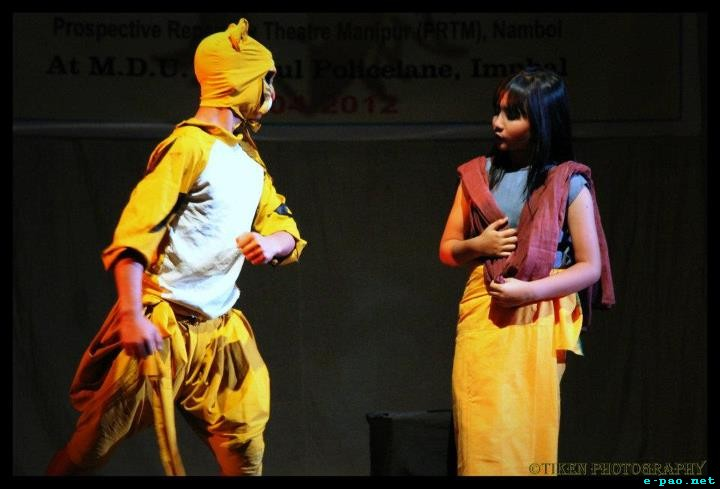 Kabui-Kei-Oiba at MDU Hall by Children Theatre Workshop :: April 9 2012