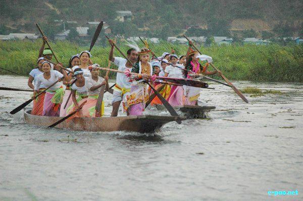 Boat Race at Thanga-Karang Ibudhou Khuman Pokpa Haraoba