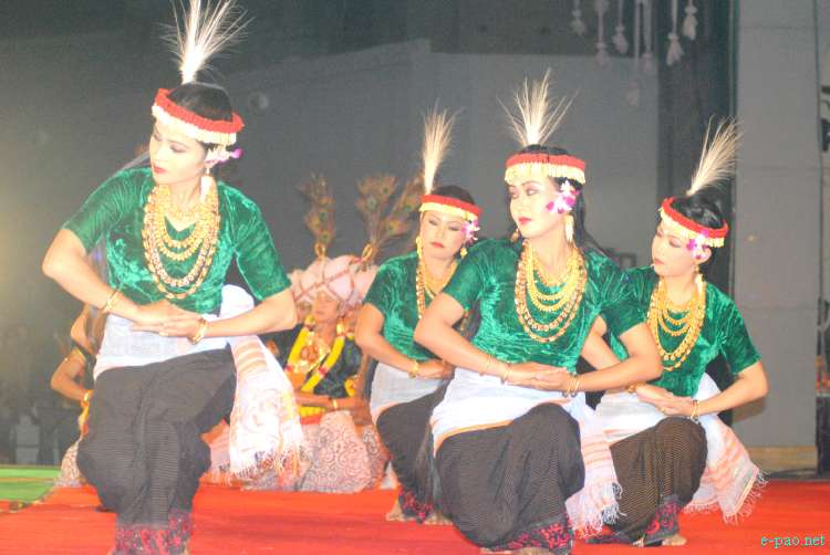 Khamba Thoibi Jagoi at the Manipur Sangai Tourism Festival 2011