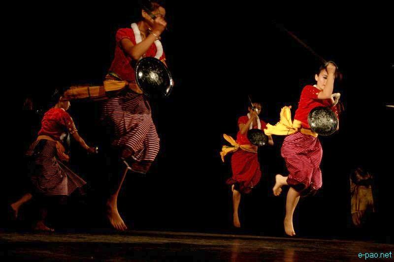 JNMDA festival of Thang Ta By Rajmani Ayekpam