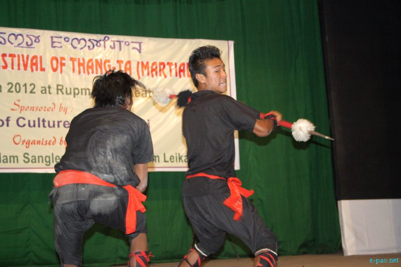 Young Artists at 2nd North East Festival of Thang-Ta  :: March 29 2012