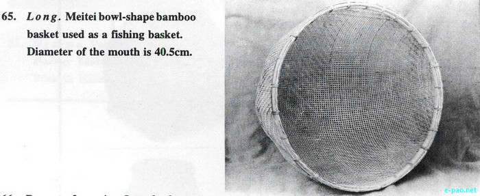 Measuring and Fishing Basket :: Cane and Bamboo Crafts of Manipur :: 2011