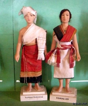 Koren (Koireng) :: An Ethnic Doll display at Mutua Museum Cultural Heritage Complex, Andro