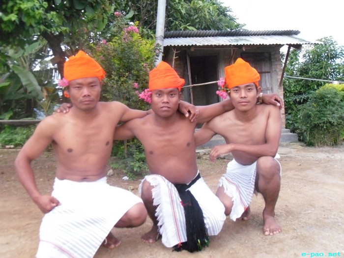 Maring Lads in Traditional Attire