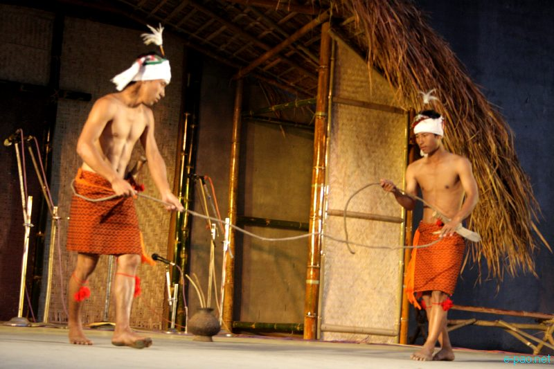 Chothe Dance at the Festival of Tribal Dance :: March 26 2012