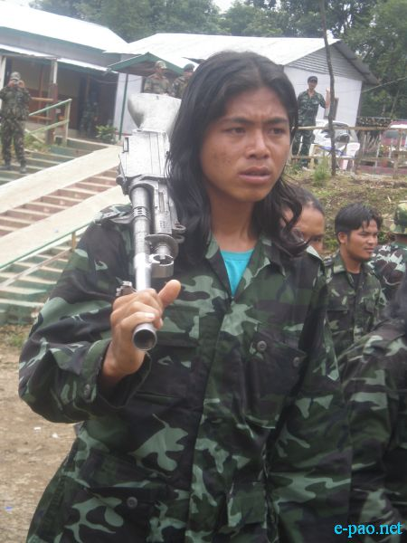 Kuki National Front (KNF) arms deposition to GOI under SOO :: Sept