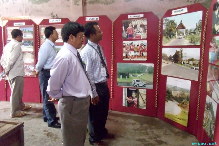 Photo Exhibition on Development Initiatives in North East at Moirang :: August 16 2011