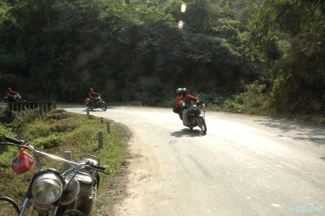 Royal Riders Manipur awareness campaign in districts of Manipur  :: November 2011