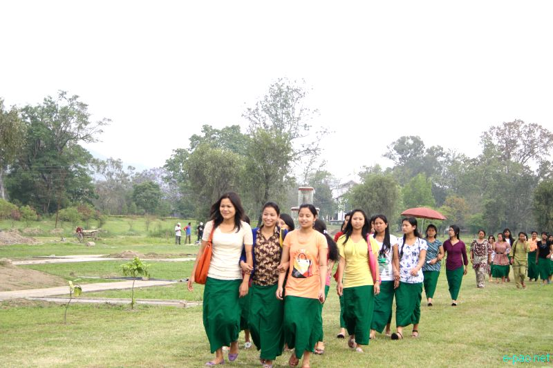Earth Day 2012 at Kangla with Women's Enviroment Protection Force (WEPF), Manipur :: 22 April 2012