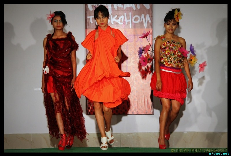 Patterns by Karan Thokchom - A designer showcase , a fashion show in Imphal :: 29 April 2012
