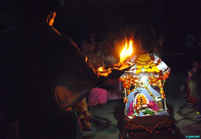 Hari Uthan Festival at Bamon Leikai, Imphal :: 7 November 2011