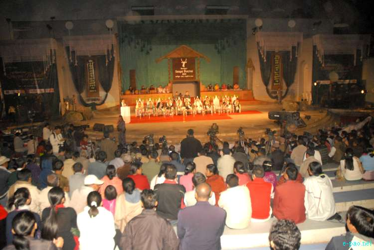 Opening day of Manipur Sangai Tourism Festival 2011 :: 21 November to 30 November