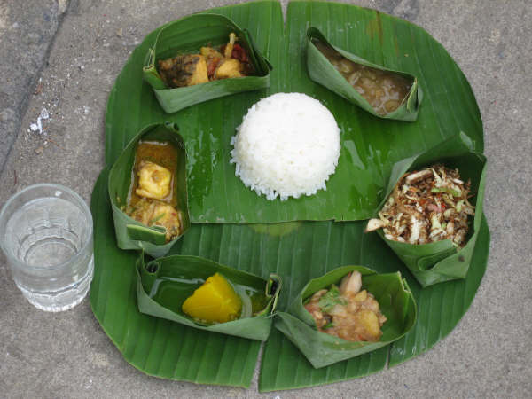 A typical Meitei Feast : Cheiraoba celebrated by Manipuri commnunity at Bangkok, Thailand in 2007