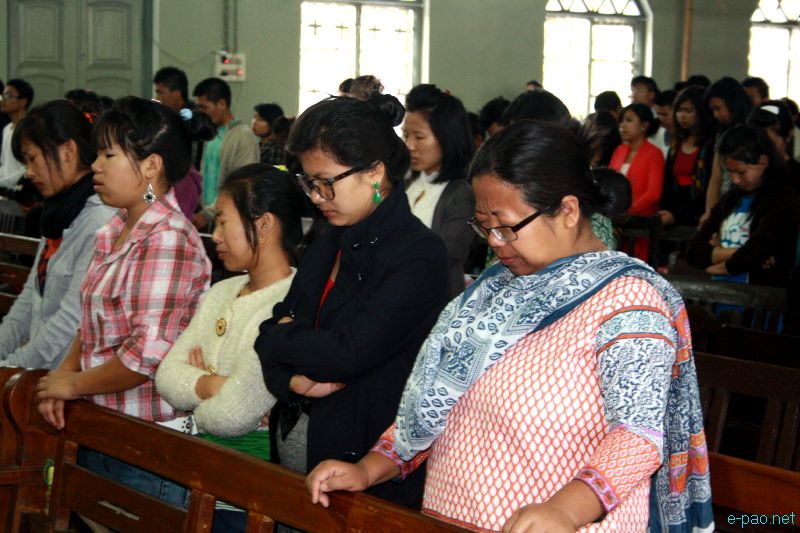Easter Sunday at MBC Church, Chingmeirong, Imphal on April 8 2012