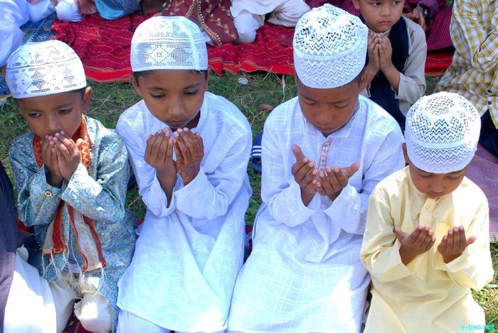 Id-ul Adha celebration at Changamdhabi under Andro Kendra Majid  Manipur :: 7 November 2011