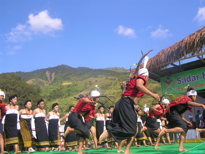 Chin-Kuki-Mizos KUT Festival at Sadar Hills, Senapati