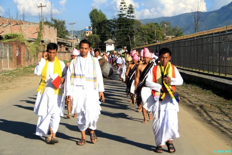 Pot Lannaba at Mera Houchongba  : re-affirming close bond and ties between hill and valley people at Iboyaima Shumang Leela Shanglen :: 29 Oct 2012