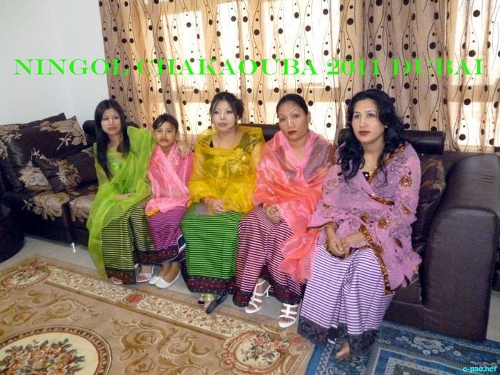 Manipuri ningol chakouba photo