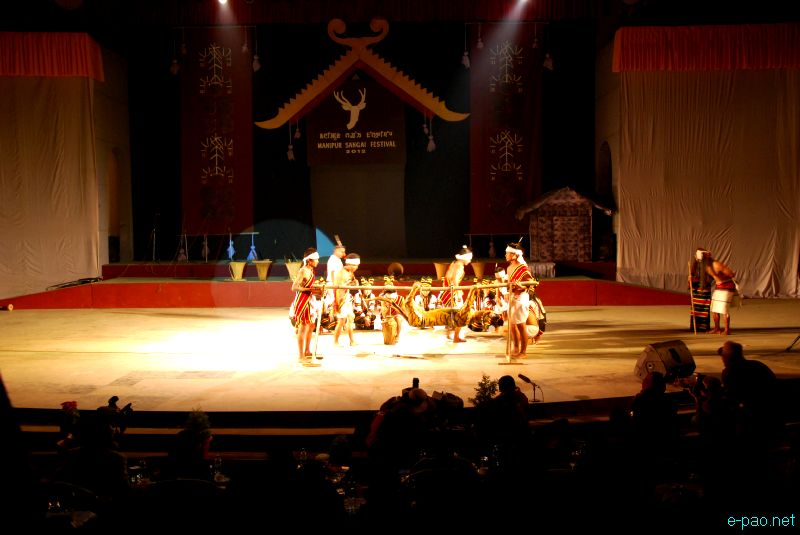 Cultural Programme by artiste of CCpur at Manipur Sangai Tourism Festival 2012 :: 25 Nov 2012