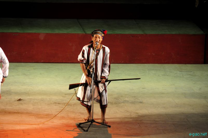 Cultural Programme by artiste of Chandel at Manipur Sangai Tourism Festival 2012 :: 26 Nov 2012