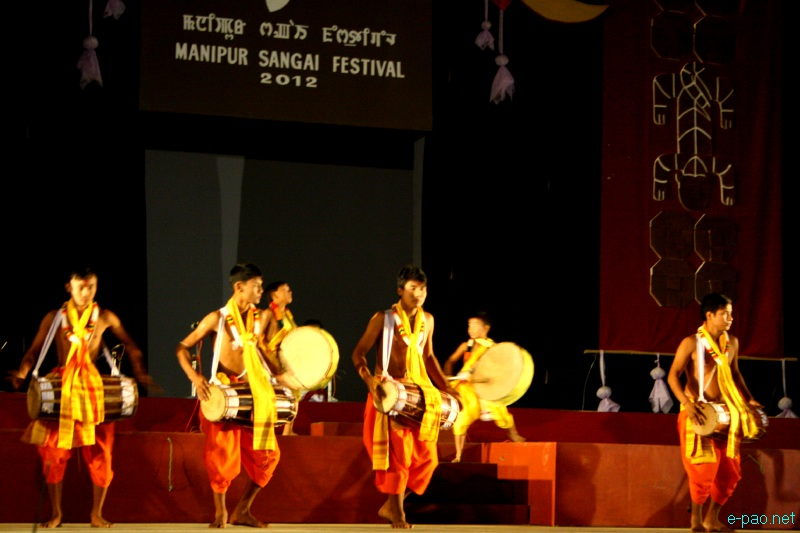 Dhon Dhollak Chollom performance at Manipur Sangai Festival 2012 (Day 2) :: 22 Nov 2012