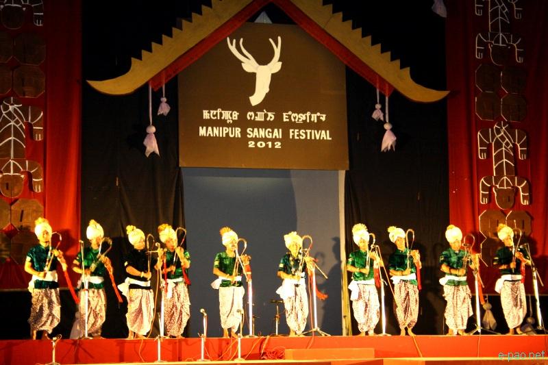 Maibi Jagoi  performance at Manipur Sangai Festival 2012 (Day 2) :: 22 Nov 2012