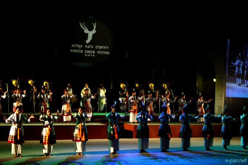 Maibi Jagoi  performance at Manipur Sangai Festival 2012 (Day 2) :: 22 Nov 2012