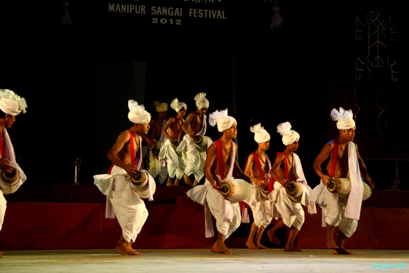 Pung Chollom performance at Manipur Sangai Festival 2012 (Day 2) :: 22 Nov 2012