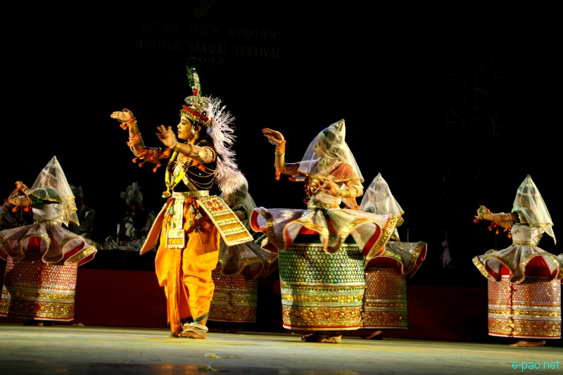 Basanta Ras performance at Manipur Sangai Festival 2012 (Day 2) :: 22 Nov 2012
