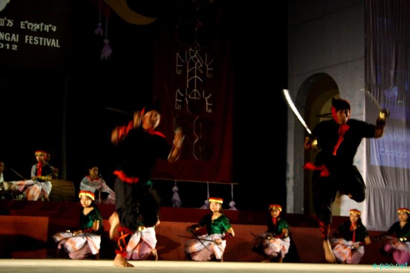 Thang Leiteng Haiba (group) performance at Manipur Sangai Festival 2012 (Day 2) :: 22 Nov 2012