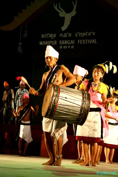 Cultural Programme by the artiste of Senapati at Manipur Sangai Festival 2012 (Day 3) :: 23 Nov 2012