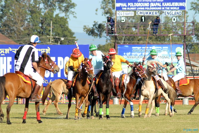 6th  International polo tournament held at Mapal Kangjeibung in  Imphal city at Manipur Sangai Festival 2012 (Day 4) :: 24 Nov 2012