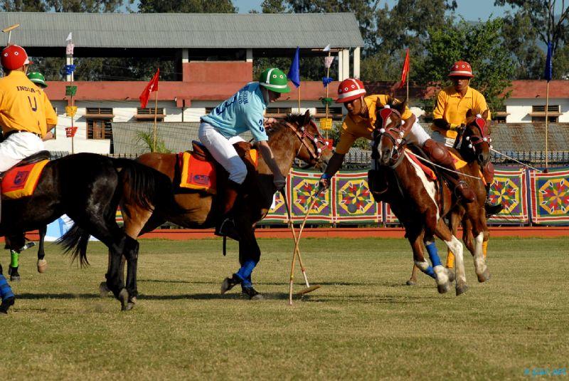 6th  International polo tournament held at Mapal Kangjeibung in  Imphal city at Manipur Sangai Festival 2012 (Day 4) :: 24 Nov 2012