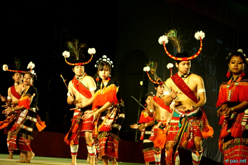 Cultural Programme by artiste of Tamenglong at Sangai Festival 2012 (Day 4) :: 24 Nov 2012