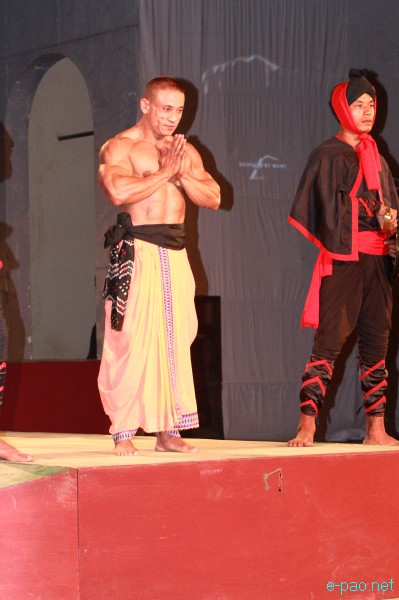 Fashion show featuring personalities of Manipur at Manipur Sangai Tourism Festival 2012 :: 29 Nov 2012