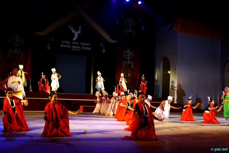 An audio visual performance based on the 'Theme Songs' of Manipur Sangai Festival 2012 (Opening Night) :: 21 Nov 2012