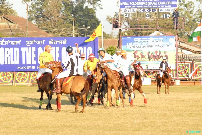 Final Match of 6th edition of Manipur International Polo Tournament 2012  at Mapal Kangjeibung  :: 29 Nov 2012