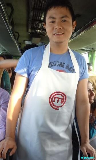 Bijou Thangjam reaches the Best top 50 Chef of India 2011 for Master Chef India 2
