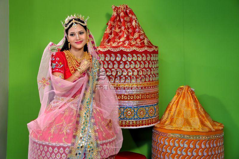<i>Potloi</i> - Meitei Traditional Bridal Costume :: 2010