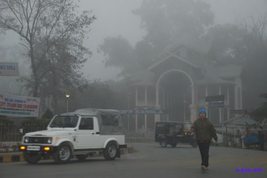 Winter Morning Fog in Imphal, Manipur :: December 2008
