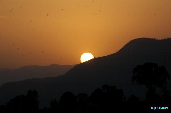 Summer Time Sun Set progression :: May 2009