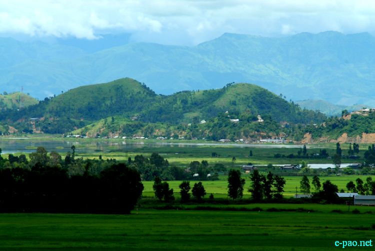 Hills, Valley and Lakes of  Manipur - Thangjing Ching and Loktak Lake