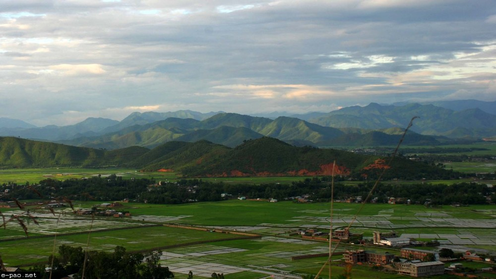 Breath-taking landscape of Manipur taken by Bullu Raj :: 2011