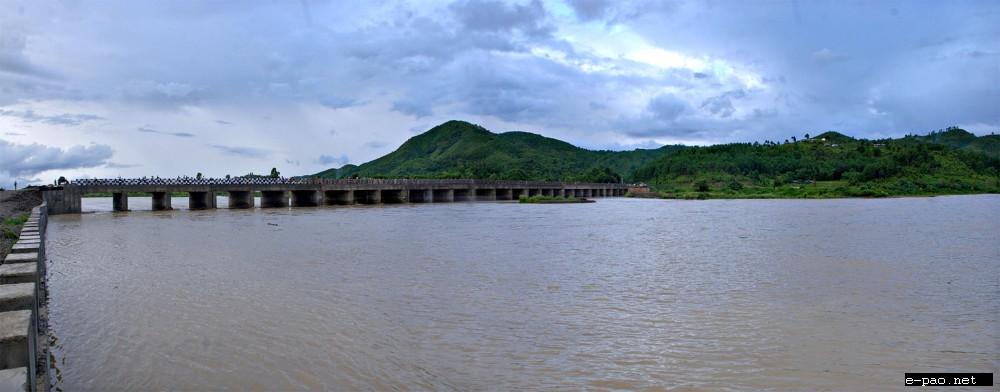 A river : landscape of Manipur taken by Bullu Raj in 2011